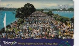 New Zealand, NZ-E-004, $5, Round The Bays Race, Sport, 2 Scans. - New Zealand
