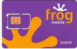 GREECE - Frog GSM Card  Purple , Mint In Blister - Greece