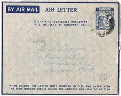 29232. Aerograma HAIFA (Palestine) 1945. Air Letter - Palestina