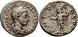 Sévère Alexandre 2,34 G (RIC 266v -RIC IV, 2, P. 71, 7 +reste Patine Dorée) - 4. La Dinastía De Los Severos (193 / 235)