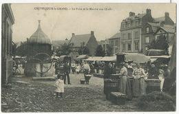 Crevecoeur Le Grand Le Marché Aux Oeufs Et Le Puits Egg Market - Markets