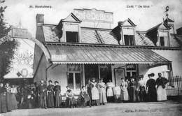 St Mariaburg - Café De Bist (top Animation, Tram Stilstand, F. Hoelen) - Brasschaat