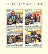 TOGO 2014 - Malaria, Polio. Rotary - YT 4186-9; CV=17 € - Disease