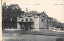 CPA  BRUXELLES LAEKEN   LA GARE ROYALE - Spoorwegen, Stations