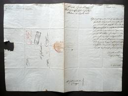 Manoscritto Grazia Concessa Furto Alveare D'Api Rio Correggio 1823 Diritto - Livres, BD, Revues