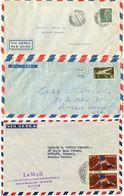 Spain 1950's-60's 3 Airmail Cover Madrid To Rutland, Vermont - 1931-Heute: 2. Rep. - ... Juan Carlos I