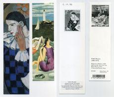 2 Marque-page Pablo Picasso - Arlequin Accoudé - Baigneuses - Bookmarks