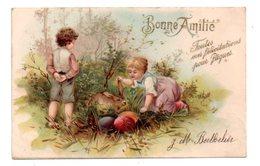Bonne Amitié - Toutes Mes Félicitations Pour Pâques- Voir état - Autres