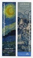 2 Marque-page Van Gogh Museum - Avec Logo KLM - Bookmarks