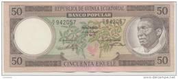 EQUATORIAL GUINEA P. 10 50 E 1975 AUNC - Guinea Ecuatorial