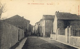 26)  SAINT   MAURICE  -  Rue  Basse - France