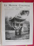Le Monde Colonial Illustré N° 39 De 1926. Tonkin Hanoi Oubangui-chari Saint-pierre Miquelon Réunion Dakar Indochine - Journaux - Quotidiens