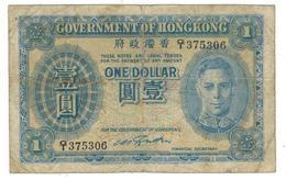 Hong Kong 1 Dollar (n/d) P-316, Used, See Scan. - Hong Kong