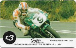 Isle Of Man - Chip - TT Racers 94 - Philip McCallen, 3£Mp, 1994, 5.145ex, Used - Isla De Man