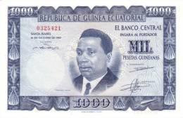 EQUATORIAL GUINEA P.  3 1000 P 1969 UNC - Guinea Ecuatorial