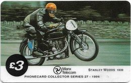 Isle Of Man - Chip - TT Racers 94 - Stanley Wood, 3£Mp, 1994, 5.403ex, Used - Isle Of Man