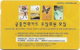 Korea, South - Korea Telecom (Magnetic) - KDNetwork, 2001, Used - Korea, South