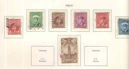 Canada PO 1942/43 Sforzo Guerra     Scott.249/255+257 See Scan On Kabe Page; - 1937-1952 Regno Di George VI