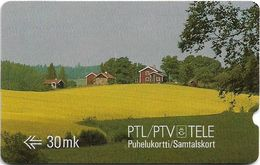 Finland - MD Series - Scene From Nummela - 1FINB - 05.1989, 90.000ex, Used - Finland
