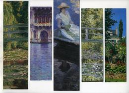 5 Marque-page Peintures De Claude Monet - Bookmarks
