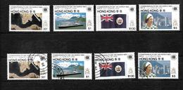 Hong Kong 1983 QEII Commonwealth Day, Complete Set MNH And Used (6701) - Hong Kong (...-1997)