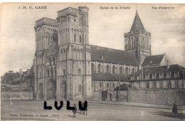 DEPT 14 : édit. H C N° 1 : Caen Vue D Ensemble De L église De La Trinité ; Photo Delassalle Et Coron A Caen - Caen