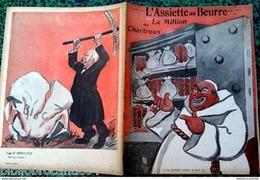 """Revue*L'ASSIETTE AU BEURRE* N°172 Du 16/7/1904 """"LE MILLION DES CHARTREUX"""" - Livres, BD, Revues"""
