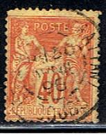 2F 522 // Y&T 94 // 1877-80 - 1876-1898 Sage (Type II)