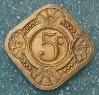 Netherlands Antilles 5 Cents, 1967 - Antilles Neérlandaises