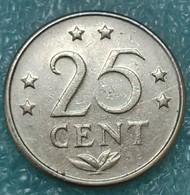 Netherlands Antilles 25 Cents, 1970 - Antilles Neérlandaises