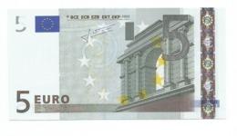 EURONOTES BANCONOTA BILLET DA 5 EURO L FINLANDIA E010.. UNC FDS - 5 Euro