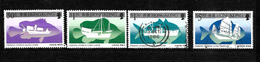 Hong Kong 1986 QEII Fishing Vessels, Complete Set Used (6715) - Hong Kong (...-1997)