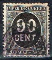 Impuesto De Guerra 1898-99, 90 Cts - Impuestos De Guerra