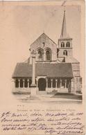 Cpa 51 HERMONVILLE  L'église Et Le Calvaire , Avant La Première Guerre Mondiale, Dos Simple - Other Municipalities