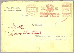 WEHRLE UHRENFABRIK K.G. - Fabrica De Relojes. Schonwald 1939 - Relojería