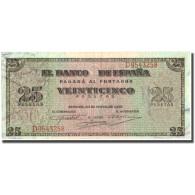 Billet, Espagne, 25 Pesetas, 1938, 1938-05-20, KM:111a, TTB+ - [ 3] 1936-1975 : Regime Di Franco