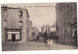 CPA Brest La Rue Porstrein Nevez - Brest
