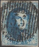 Belgique 1851 COB 7A. 20 C. Médaillon, Cachet De Distribution D55 Waerschoot. Superbe - Postmarks - Lines: Distributions