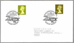 75th Anniversary 1st UK INTERNATIONAL AIR MAIL. Hounslow Middlesex 1994 - Correo Postal