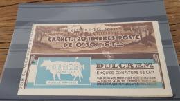 LOT 406799 TIMBRE DE FRANCE NEUF** - Carnets