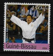 GUINEE BISSAU  N° 1732 * *  Jo 2004 ( Cote 2.25e ) Judo - Judo