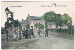 Moll - Gemeente School 19..  (Geanimeerd) - Mol