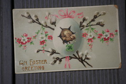 Cpa An Easter Greeting - Reino Unido