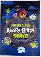 ALBUM GIROMAX 2011 - STICKER ALBUM ANGRY BIRDS SPACE Avec POSTER Et 8 Images Pas PANINI - Stickers