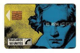 50 GEM 01/89 Beethoven N25 A Circulée - 1989