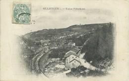 REF647-2018  OLLIERGUE USINE PELOCIEUX - Olliergues