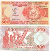 Vanuatu - 500 Vatu 1993 - 2006 UNC Pick 5a Serie AA Lemberg-Zp - Vanuatu