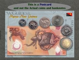 Papua New Guinea Circulating Coins And Currency 2013 (Papouasie Nouvelle Guinée Monnaies Et Billets), Papua Neu-Guinea - Coins (pictures)