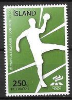 Islande 2012, N°1287 Neuf Jeux Olympiques De Londres, Handball - 1944-... Republic