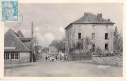 87 - GLANGES  : Place De L'Eglise - CPSM PHOTO Noir Et Blanc Format CPA 1949 - Haute Vienne - Other Municipalities